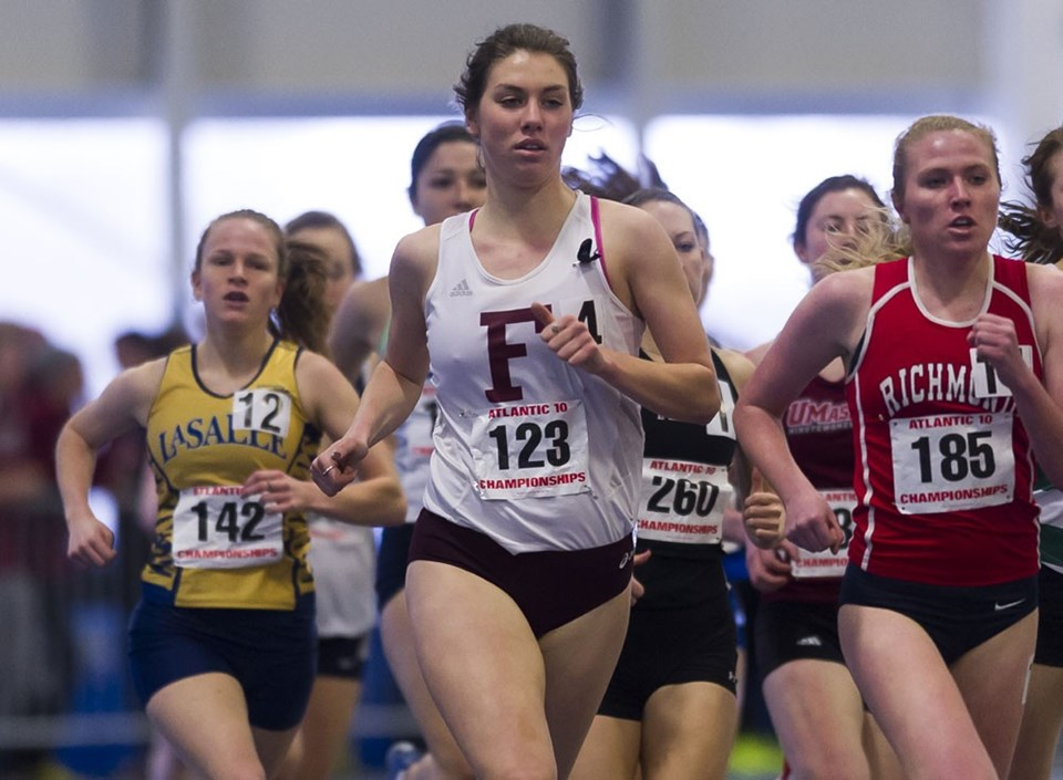 Relay Teams Take Center Stage At Yale Invitational Fordham