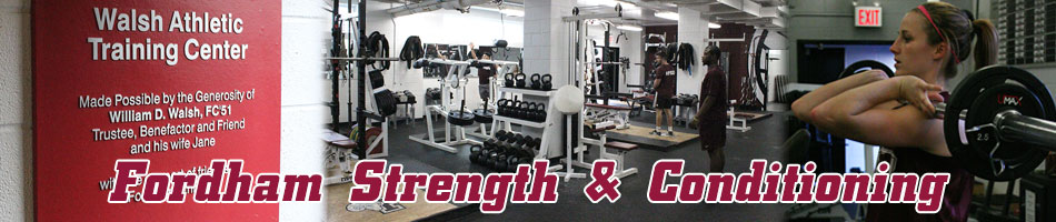 Strength & Conditioning - Fordham University Athletics