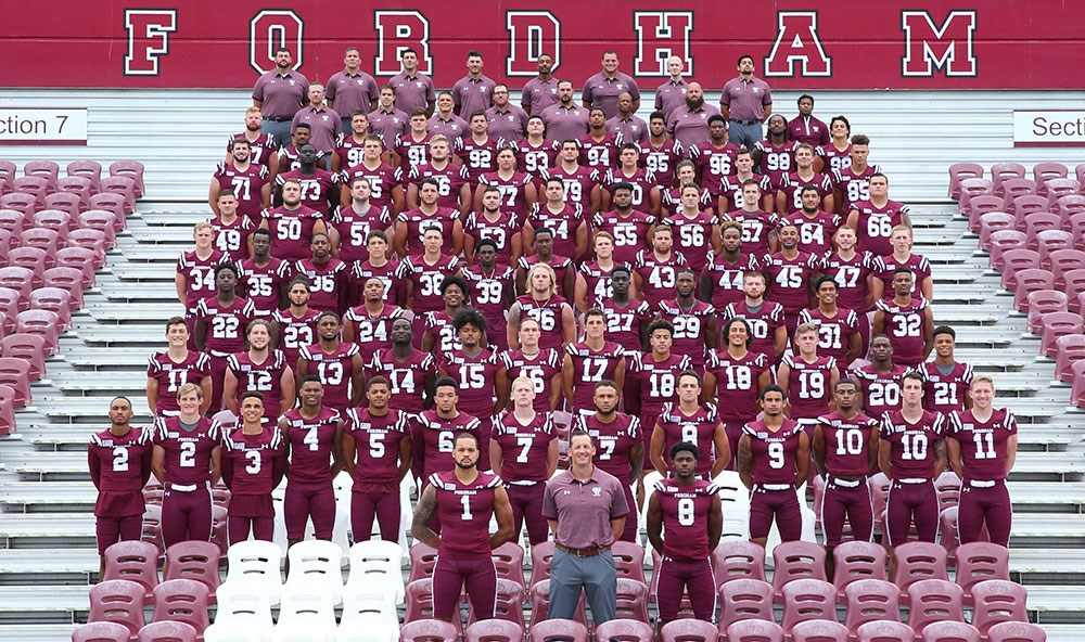2018 Football Roster Fordham University Athletics