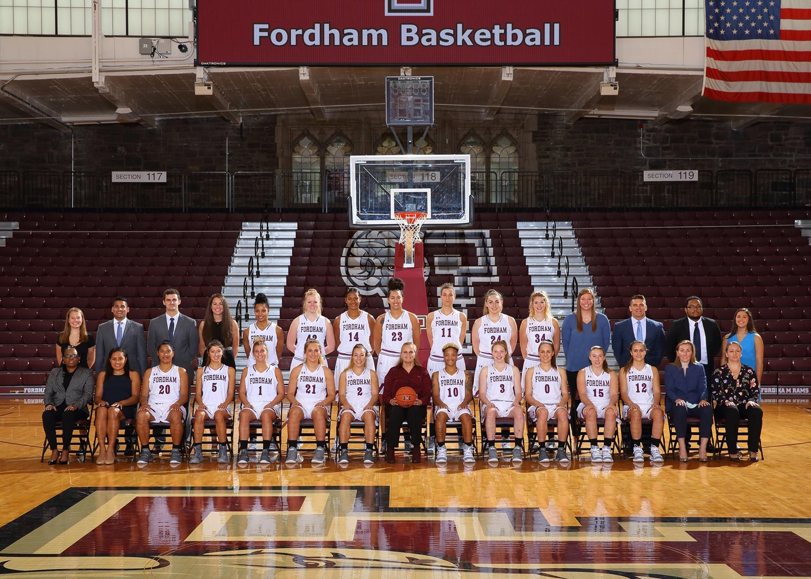 2018 19 women s basketball roster fordham university athletics