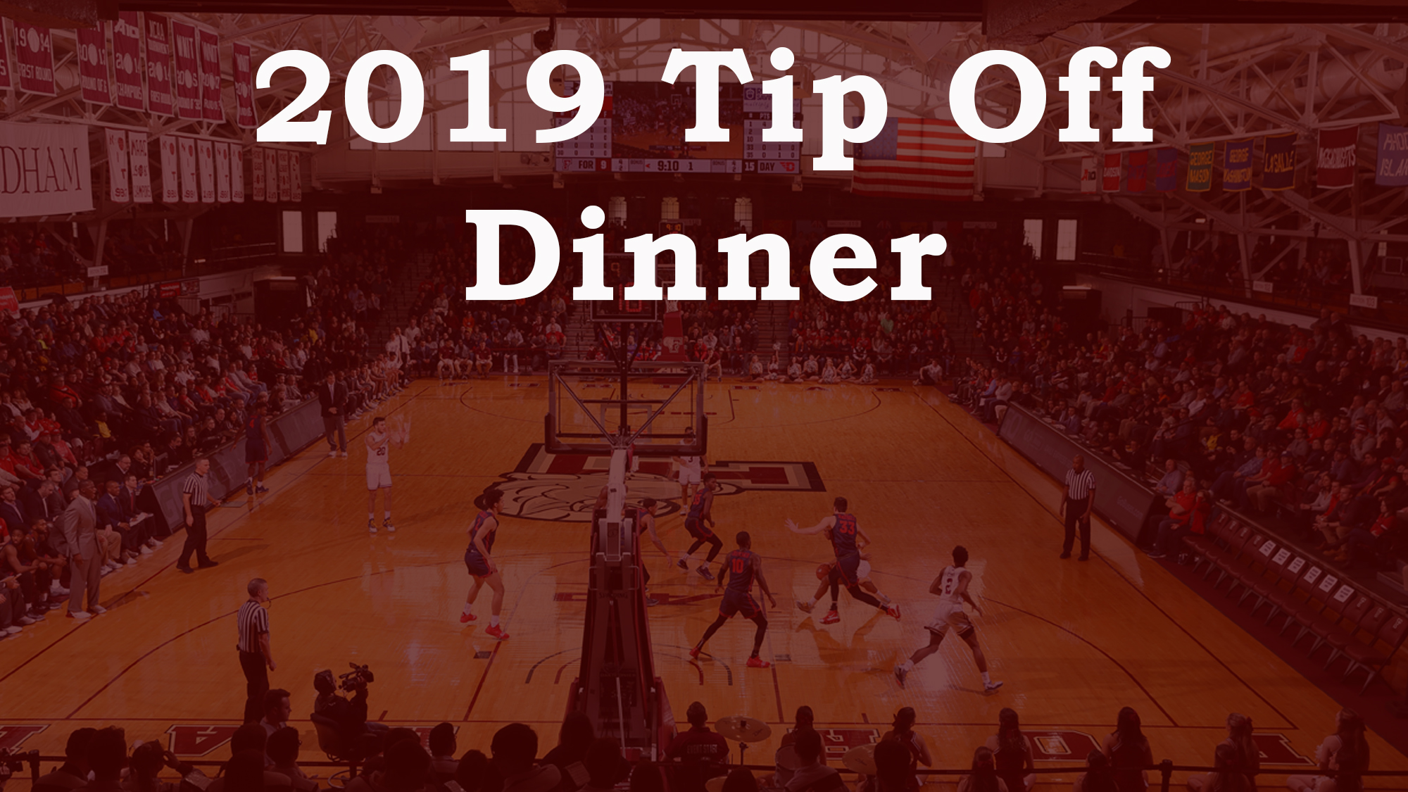Tip Off Dinner Graphic