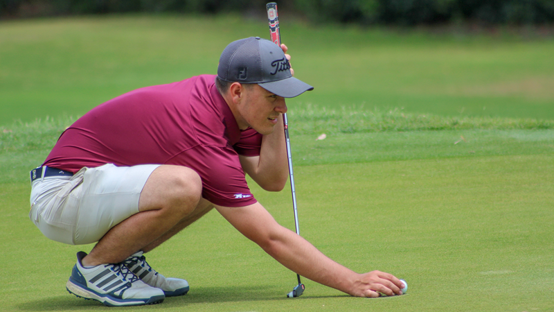 Golf Begins Play at the A-10 Championships - Fordham University Athletics