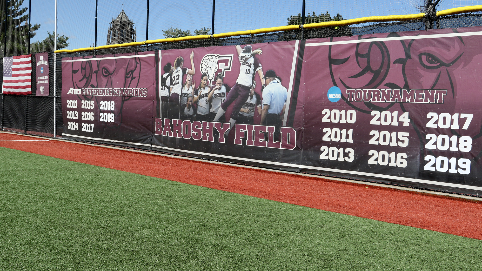 Updated SB Outfield Wall 2019