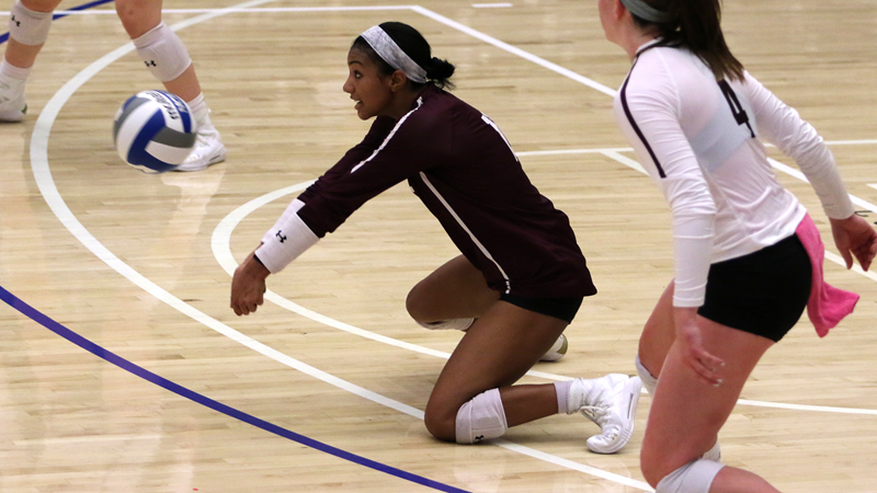 Volleyball Suffers Four-Set Defeat at Davidson
