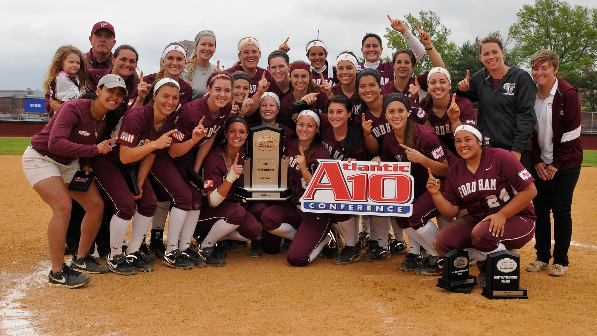 2013 A-10 Champions - The Fordham Rams!