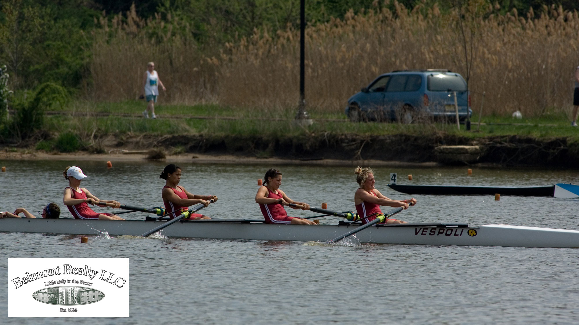 2008 Lightweight 4 in action