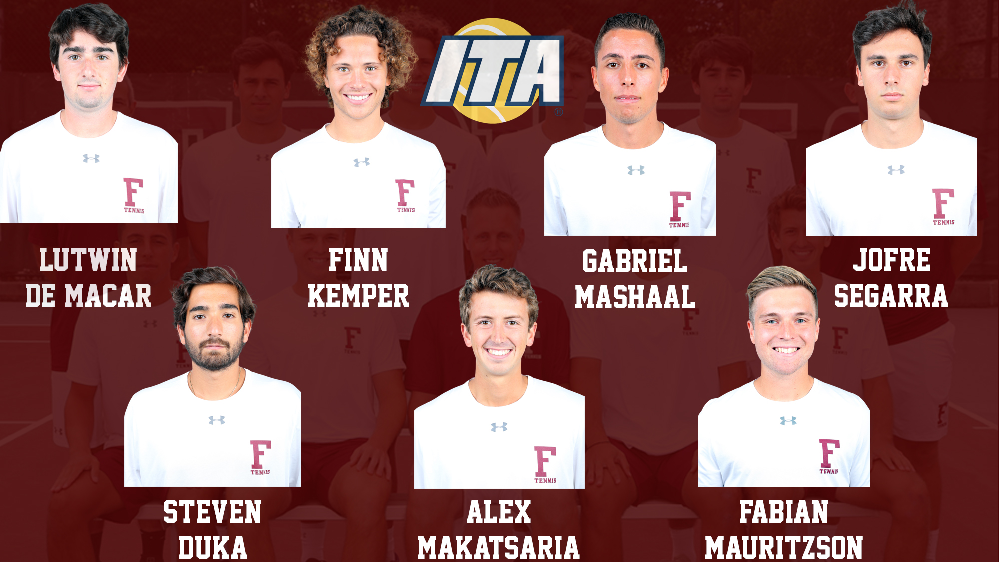 Men's Tennis ITA All-Academic graphic